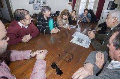 Representantes del CEDA mantuvieron una reunión con Concejales