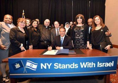 Nueva York se declara aliado de Israel