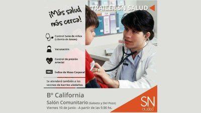 El tr�iler de la Secretar�a de Salud atender� en B� California