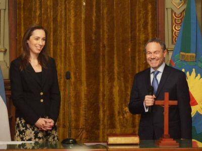 Una mano lava la otra: Vidal le tomó juramento a Ferrari, ahora ministro de Justicia