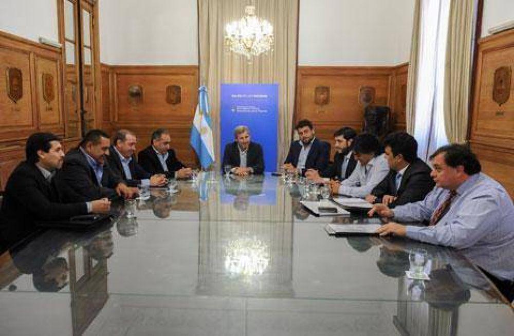 Intendentes del FVS se reunieron con Frigerio en Casa Rosada