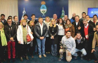 Peppo destacó a periodistas por el aporte al sistema democrático en la