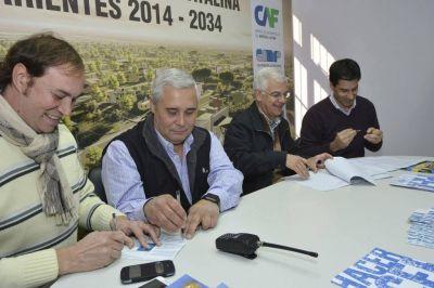 Ríos adjudicó lotes del Parque Industrial Santa Catalina