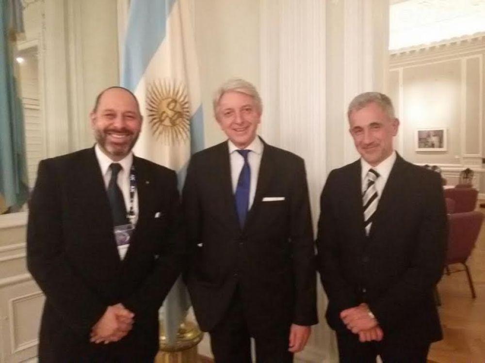 Fuerte compromiso de la Argentina ante los líderes judíos americanos