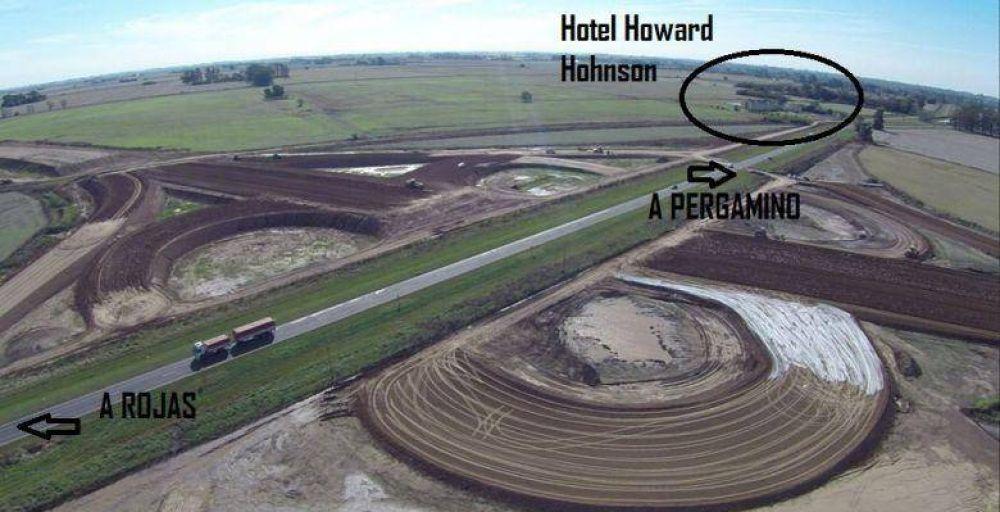 Avanza la Circunvalación de Pergamino en la Ruta 8