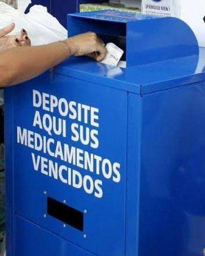 Presentan proyecto de Ordenanza para eliminar de basureros medicamentos o productos farmacéuticos vencidos