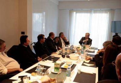 Intendentes municipales de la 4ta Secci�n, enrolados en Cambiemos, con intensa actividad conjunta