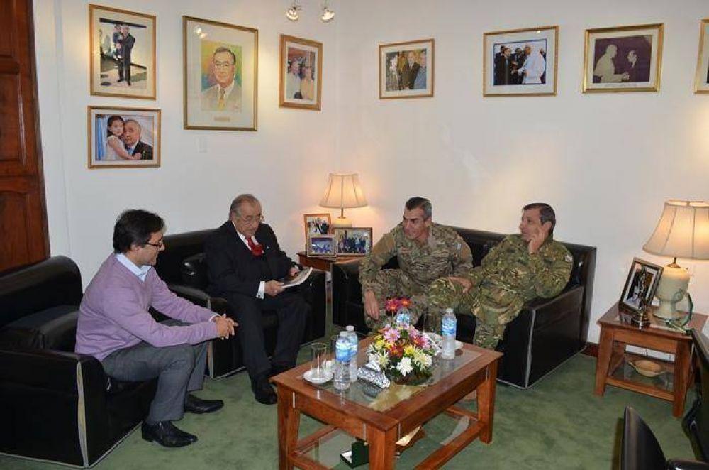 Bogado se reunió con altos oficiales jefes del ejercito