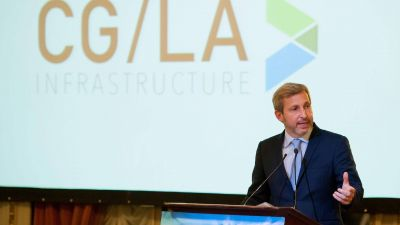 """Rogelio Frigerio: """"Apuntamos a que la inversión en infraestructura alcance los 6 puntos del PBI"""