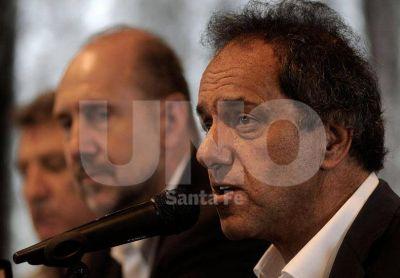 Con Scioli y Gioja, el PJ santafesino presenta hoy a sus autoridades