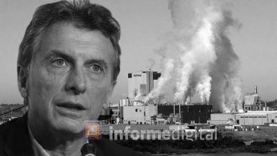 Macri contra la ley que impide venderle madera a la ex Botnia