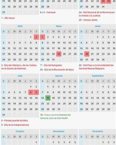 Finalmente, el 17 de junio será feriado nacional y habrá un fin de semana extralargo
