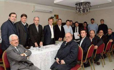 """Fossati dijo que """"en la provincia buscamos sumar recursos para resolver los problemas de la gente"""""""