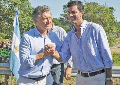 Macri en Cerrillos junto a intendentes del NOA y NEA