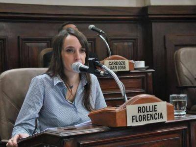 """Quiebre: """"Estamos analizando la posibilidad de conformar un interbloque"""", aseguró Florencia Rollié"""