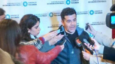 Julián Weich presentó en Tucumán el proyecto Agua Segura