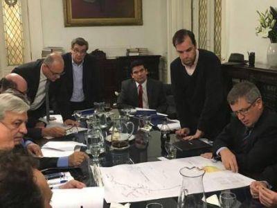 El diputado nacional Sergio Buil presentó el anteproyecto para el gasoducto del noroeste