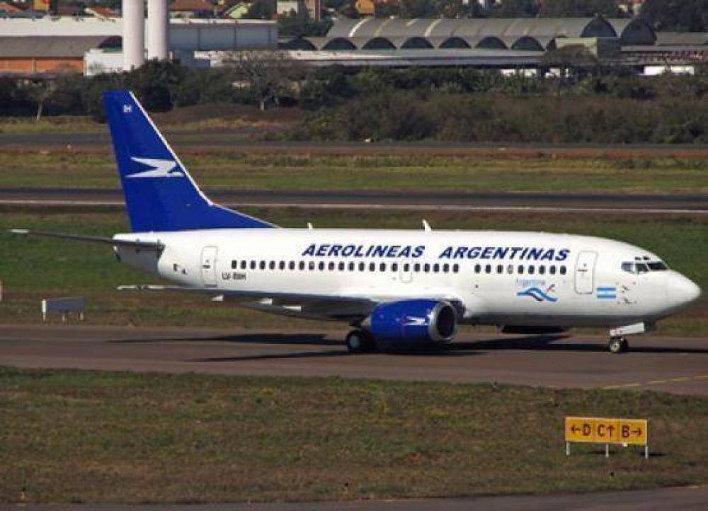 El viernes y sábado, los aeropuestos de Río Gallegos y El Calafate quedarán paralizados por paro