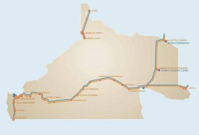 Río Negro interconectada por el Plan Federal de Internet de Arsat