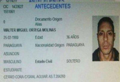 La justicia paraguaya ordenó detener a Pérez Corradi por falsificar documentos