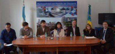 La Ministra de Salud, en Olavarría y Saladillo: reunión con Intendentes y firma de convenio