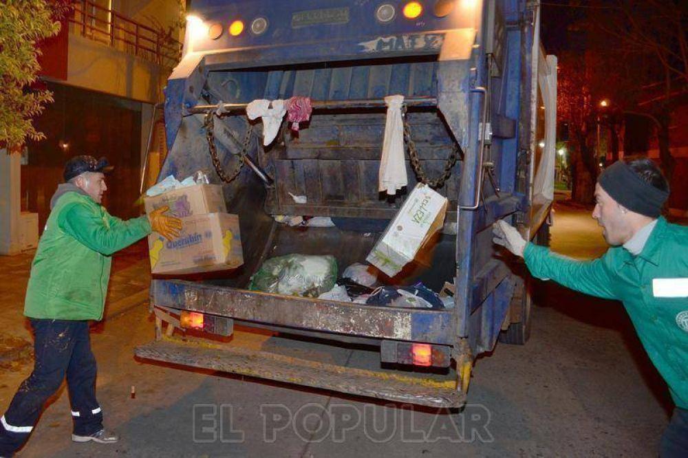 Por el paro de camioneros no se recolectarán los residuos