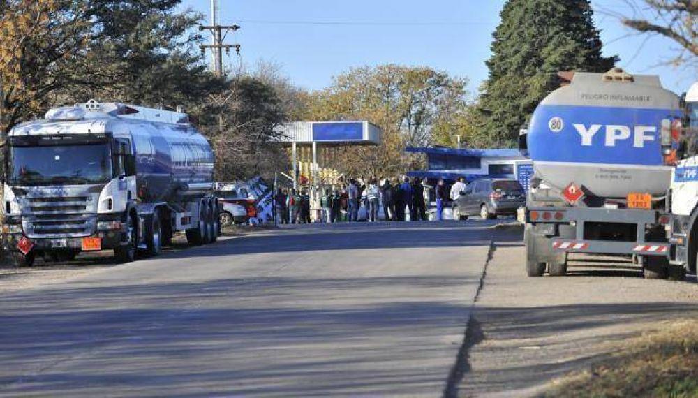 Paro de Camioneros: podría faltar nafta a partir del viernes a la noche en Córdoba