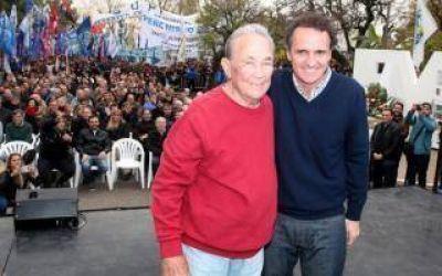 Intendentes peronistas homenajearon a los fusilados de José León Suárez