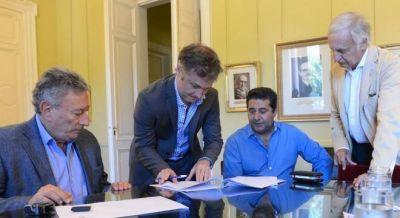 El Gobierno suspendi� la licitaci�n del F�tbol para Todos por la crisis en AFA