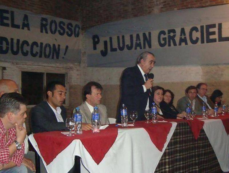 El ministro de gobierno bonaerense visitó Luján