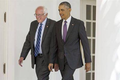 Tras la reuni�n con Obama, Bernie Sanders dijo que trabajar� con Hillary Clinton para derrotar a Donald Trump