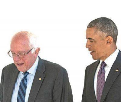 Obama respald� la candidatura de Hillary Clinton