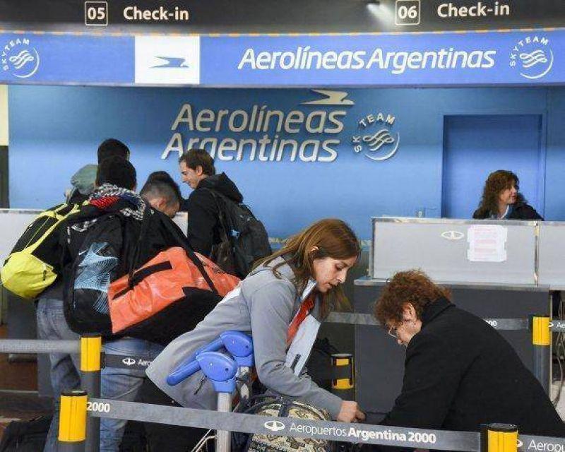 Demoras y cancelaciones de vuelos en todo el país por paro de controladores aéreos