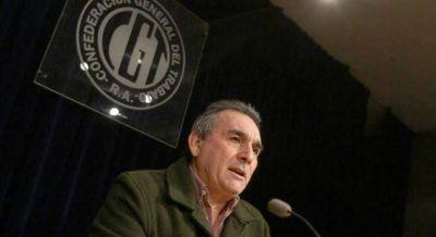 Barrionuevo y Moyano acordaron impulsar a Schmid para la CGT unificada