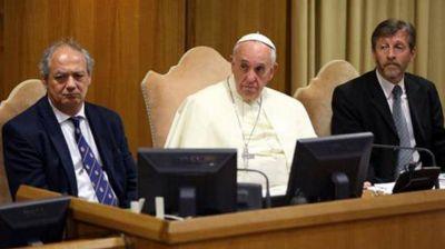 Por pedido del Papa, Scholas Ocurrentes rechazó la donación que le hizo el Gobierno
