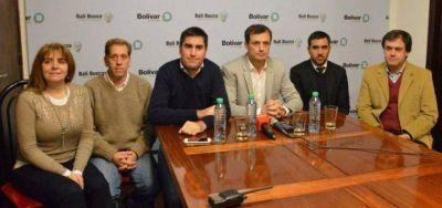 Junto a Bucca y Mosca, el presidente de Lotería anunció que lucharán contra el juego clandestino