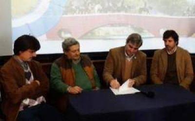 El municipio de Areco y ARPA renovaron su convenio por caminos rurales