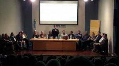 Salvai y Passaglia reunieron a intendentes y referentes de la segunda en Pergamino