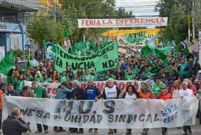 La Mesa de Unidad Sindical quiere que APROSA participe de la paritaria de salud