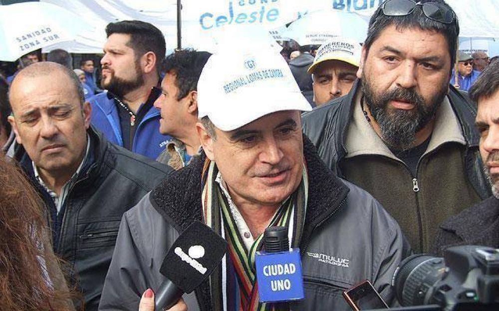 "La CGT Regional espera que ""el poder político tome nota del reclamo"""