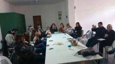 Encuentro con delegados