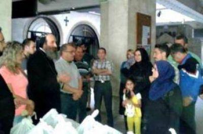 Cristianos en Siria ofrecen comida a musulmanes en Ramadán