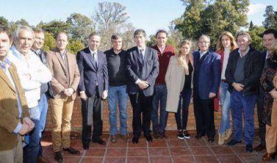Intendentes y legisladores se reunieron por las necesidades de la Provincia