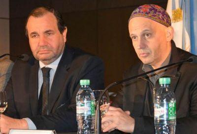 Ricardo Pagola firmó convenio con el rabino Bergman