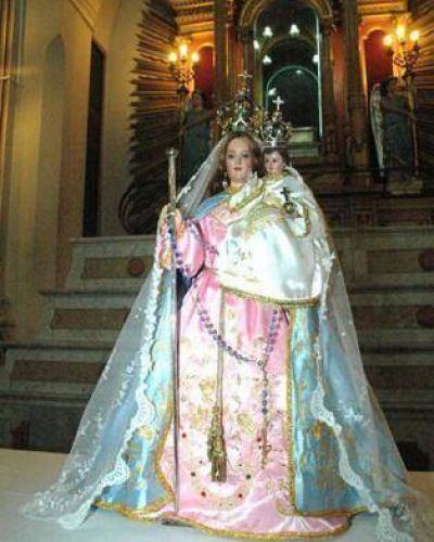 Llega de Jujuy la imagen de Nuestra Señora del Rosario