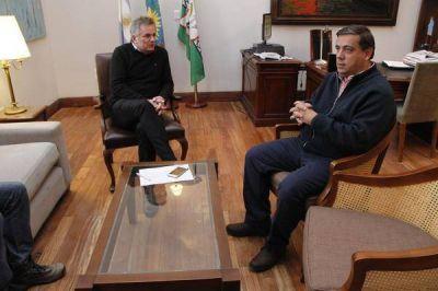 Gay se reuni� con el subsecretario de Seguridad de la naci�n