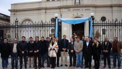 Intendentes promueven el pacto de San Antonio de Padua