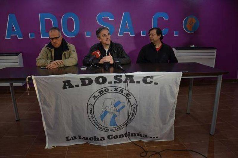 ADOSAC informó algunos aspectos de la contrapropuesta que realizarán