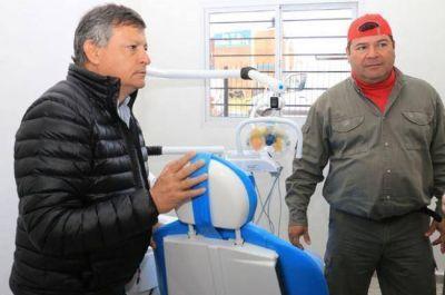 """Peppo destacó la obra del MTD Emerenciano y apuntó a la """"prevención de la salud"""""""