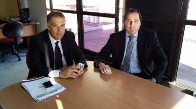 Vitale se reuni� con el presidente del Colegio de Abogados de Azul